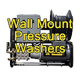 Wall Mount Pressure Washers