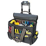 "Rolling Tool Bag - CLC 17"" with Lighted Handle L258"