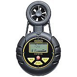 Airflow Anemometer Meter - Wind Speed, Chill, Temperature