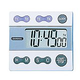 Stopwatch Timer/Clock - Digital Four Channel Jumbo Display