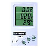 Indoor Thermometer Humidity Monitor - Wireless Room Temperature