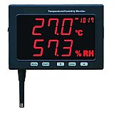 Temperature & Humidity Monitor - Jumbo Data Logging Digital Meter