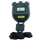 Stopwatch - Digital Count-Up Multi Function - Black