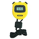 Stopwatch - Digital Count-Up Multi Function - Yellow