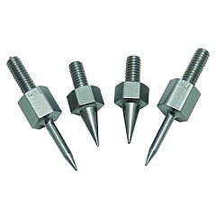 Stainless Steel Replacement Pins - 2 Pair