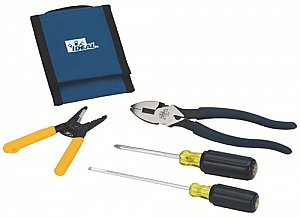 Ideal 5 Piece Dipped Grip Electrical Tool Kit