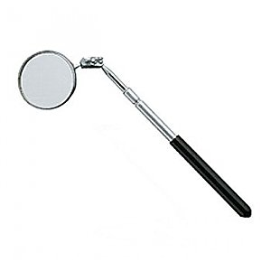 2-1/4 Inch Round Glass Telescoping Mirror