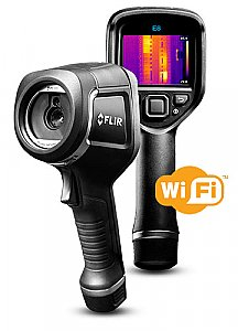 FLIR INFRARED CAMERA WITH EXTENDED TEMPERATURE RANGE E8-XT