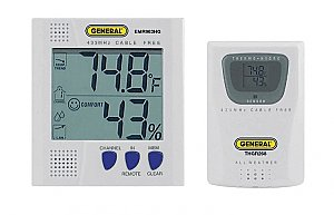 Thermo Hygrometer - Wireless Temperature, Humidty