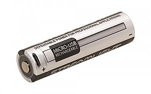 Streamlight Micro-USB Rechargeable Lithium Ion Battery 18650