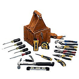 Tool Kit - Master Electrician's 17 Piece