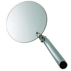 Telescopic Inspection Mirror Round Stainless Steel 3-3/4""