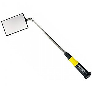 Inspection Mirror - Telescoping Lexan - 2x3 Rectangle