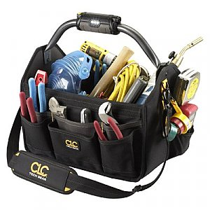 Tool Bag - CLC Big Mouth 22 Pocket Carrier with LED L234