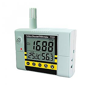IAQ Monitor Temperature, Humidity, Carbon Dioxide Alarm