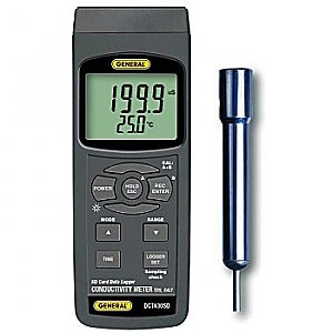 Conductivity and TDS Meter with Data Logging SD Card