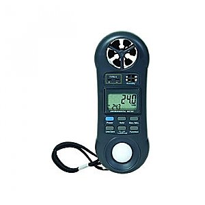 Multi Tool - Anemometer, Thermometer, Hygrometer, & Light Meter