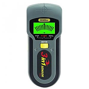 Metal Finder, Stud Locator, Voltage Tester Detector - MSV100